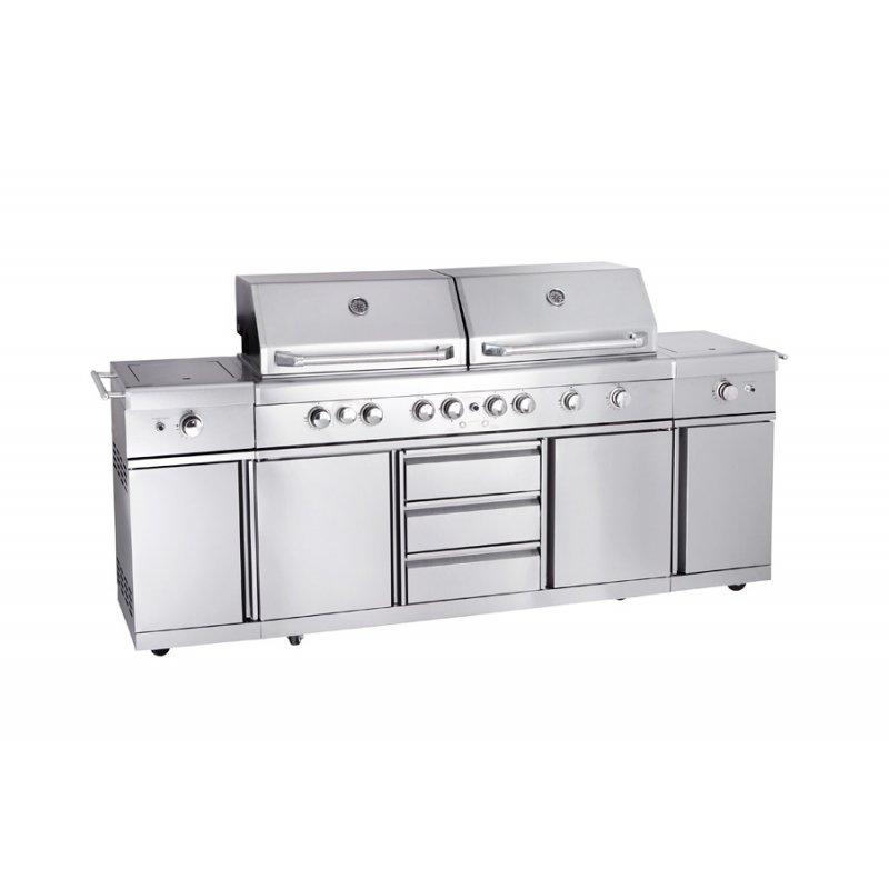 Outdoor kuche set for Outdoorkuche mit grill