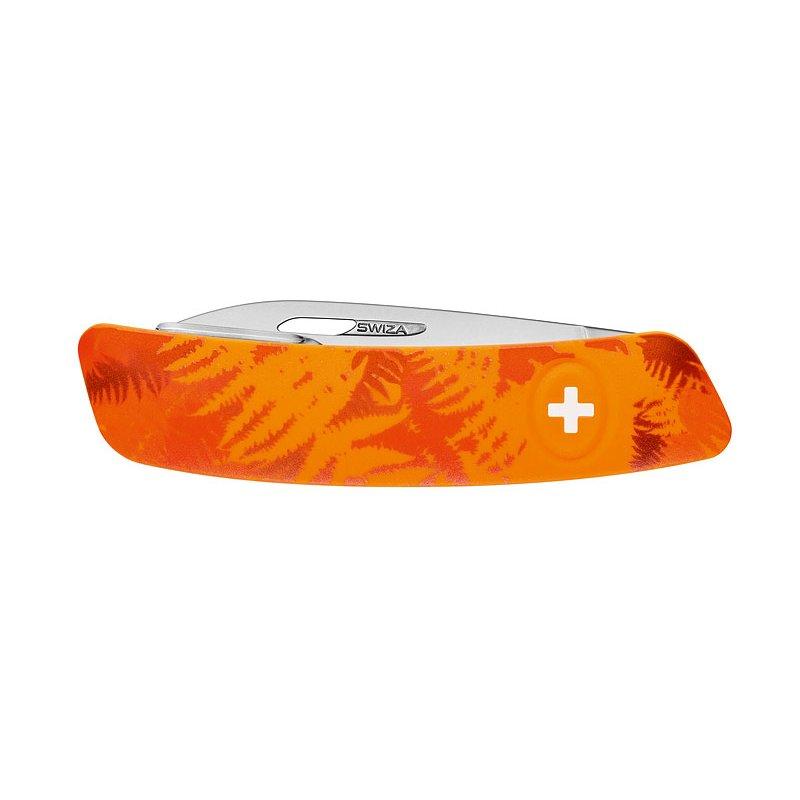 swiza schweizer taschenmesser c01 filix camo farn orange 6. Black Bedroom Furniture Sets. Home Design Ideas