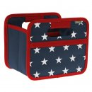 meori Faltbox Mini Marine blau - stars and stripes