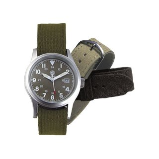 Smith and Wesson Uhr Modell Military mit 3 Armbändern