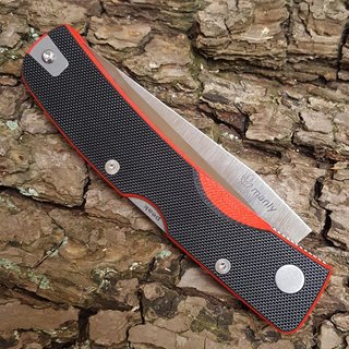 Manly Peak D2 Red Two Hand Taschenmesser