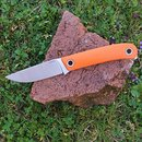 Manly Patriot D2 Orange Outdoormesser G10 Griff